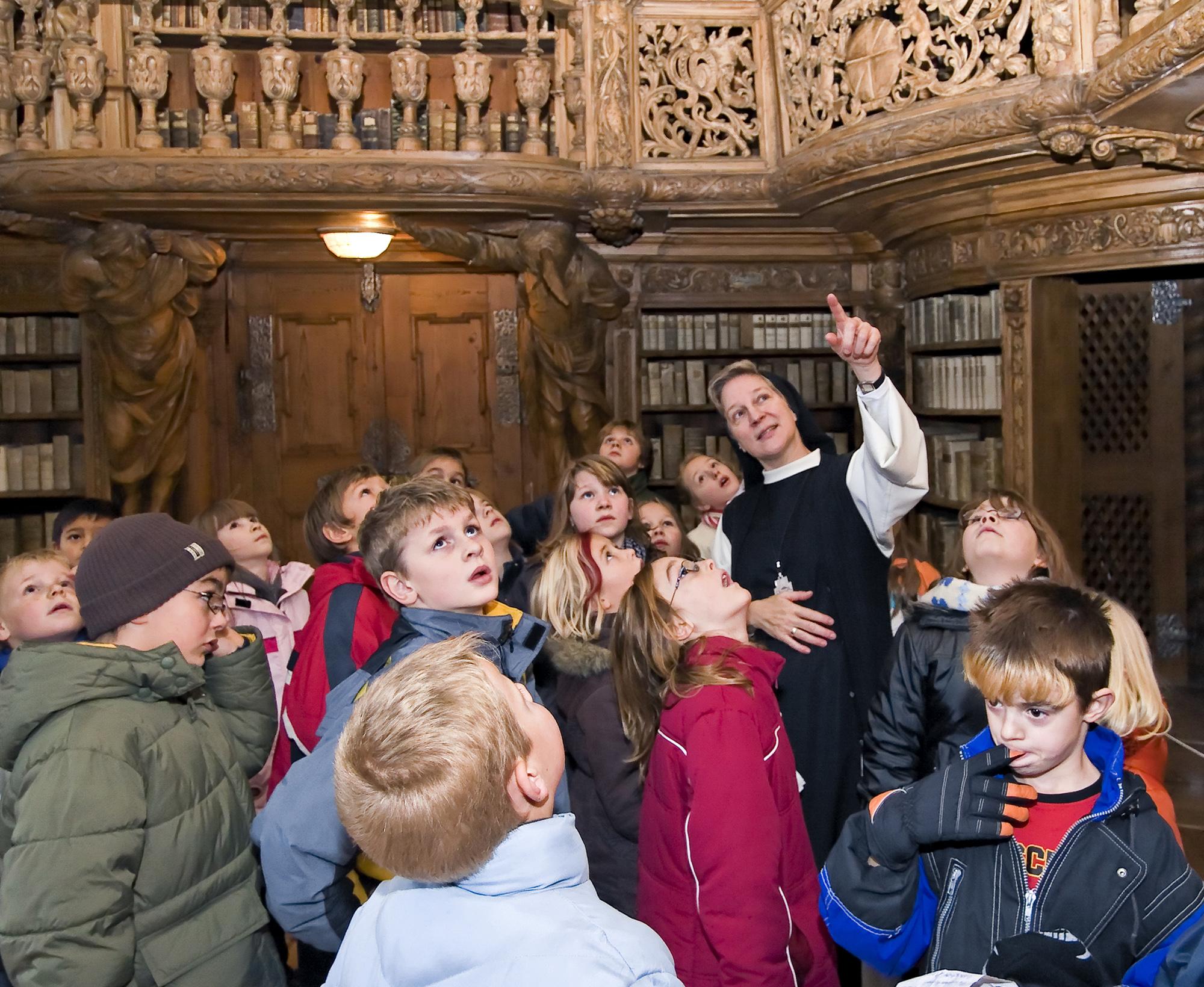 Kinderführung in der Abtei Waldsassen - Foto: Abtei Waldsassen