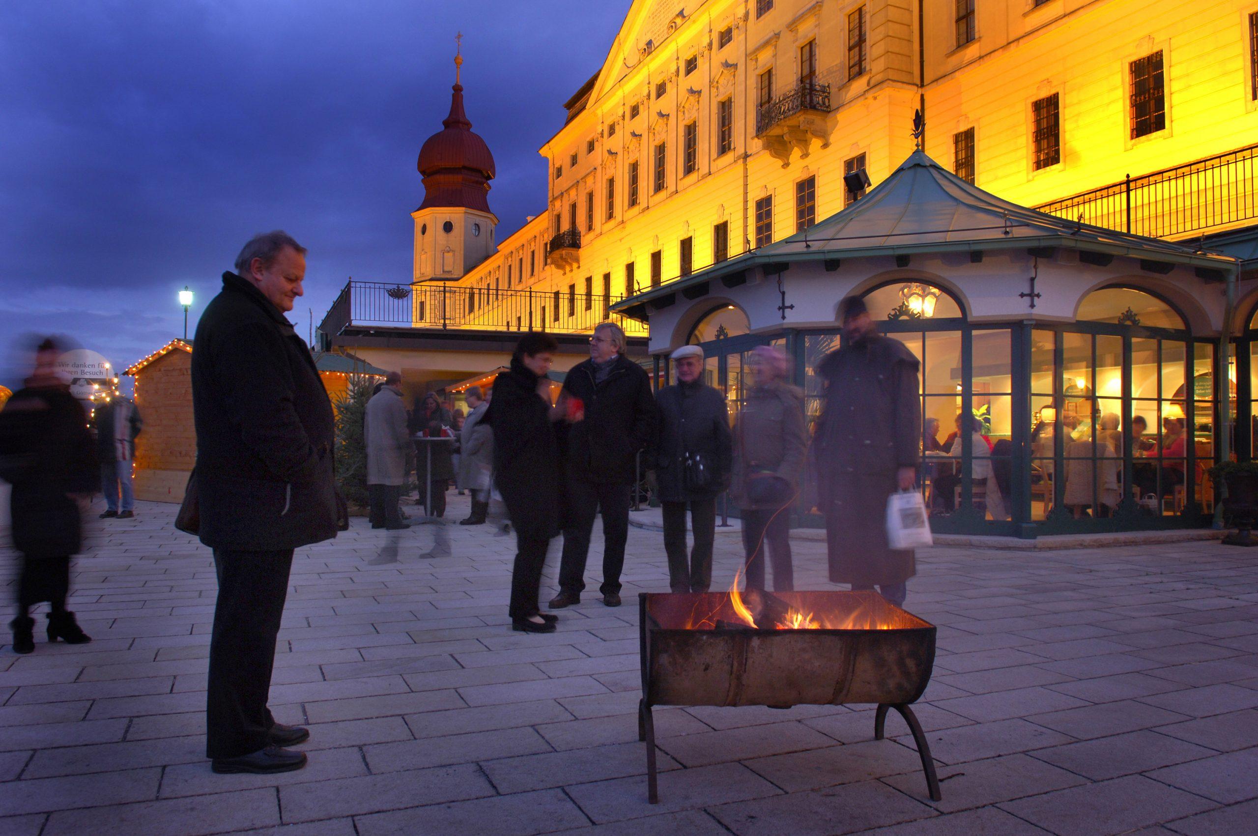 Adventmarkt Stift Göttweig - Foto: Josef Herfert / Stift Göttweig