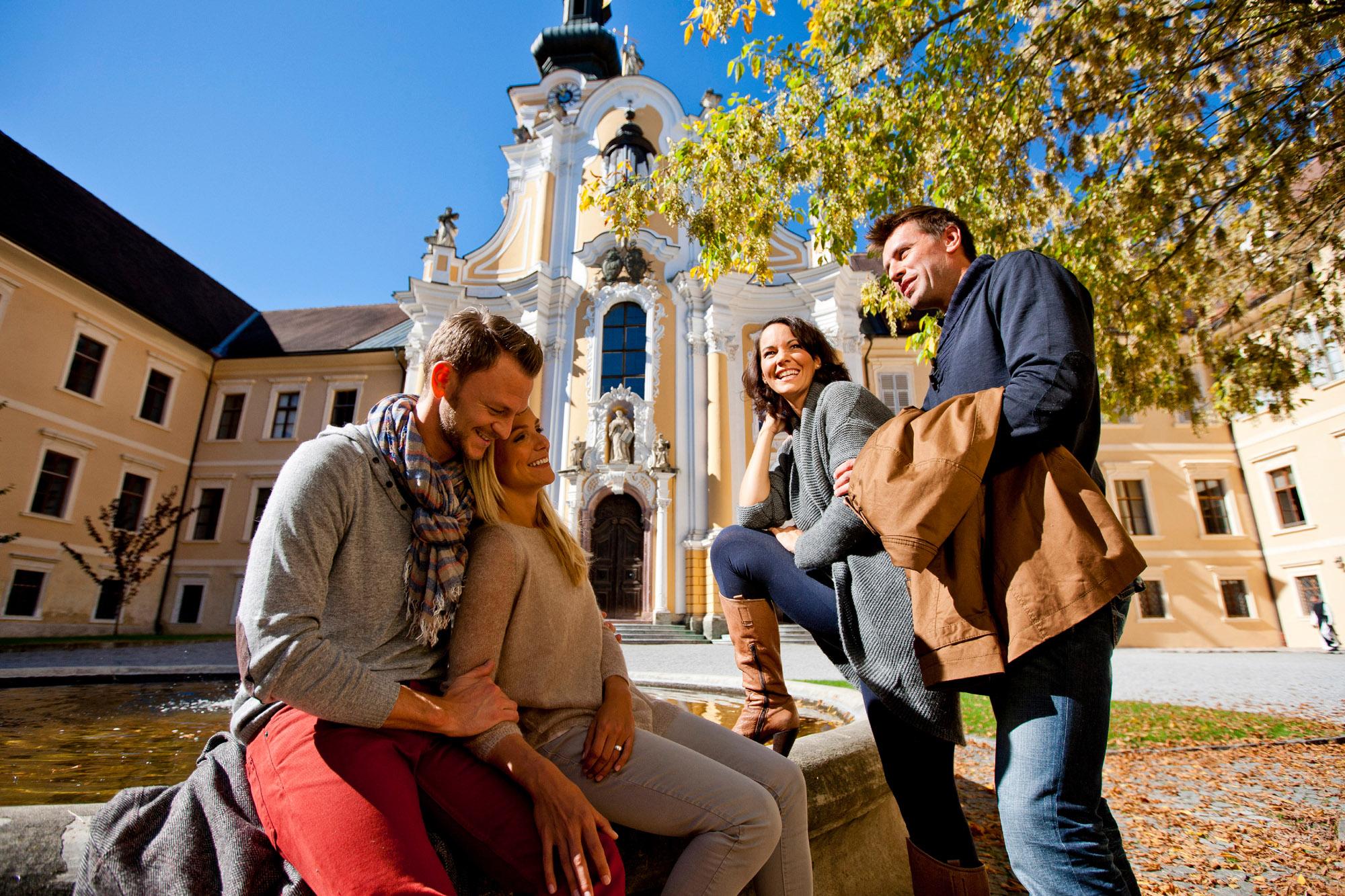 Gast im Kloster im Stift Rein / Foto: Tom Lamm - Region Graz